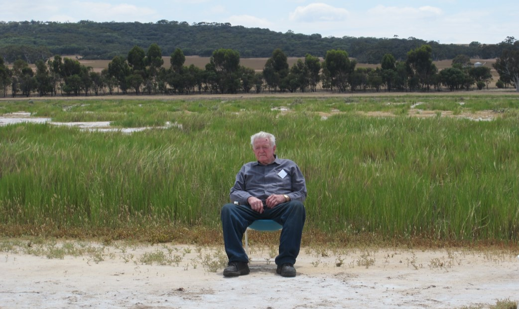 Honouring a local landcare Legend