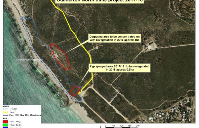 NACC - Rehabilitating the North Guilderton dunes 2017-18